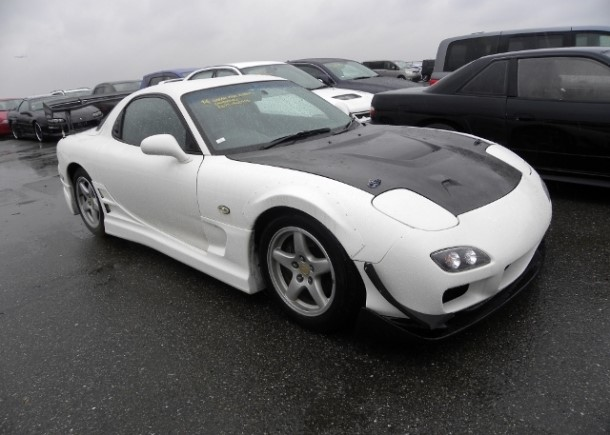 A used JDM 1997 Mazda RX-7 exported by Japan Car Direct