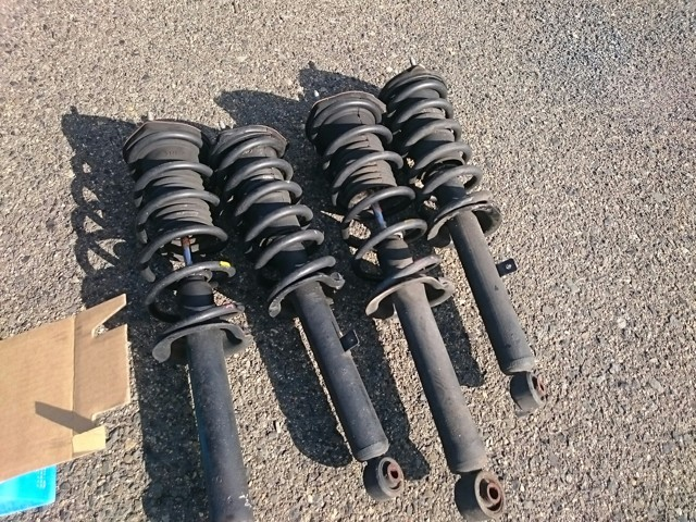 Set of back-up shocks for MARK-2 exported from Japan