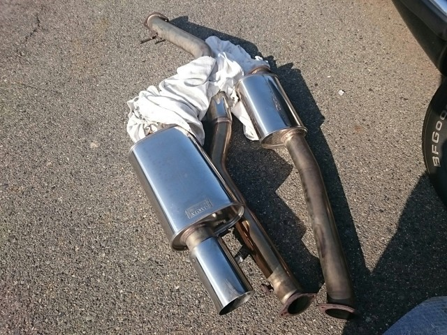 Mark-2 performance exhaust exported direct from Japan
