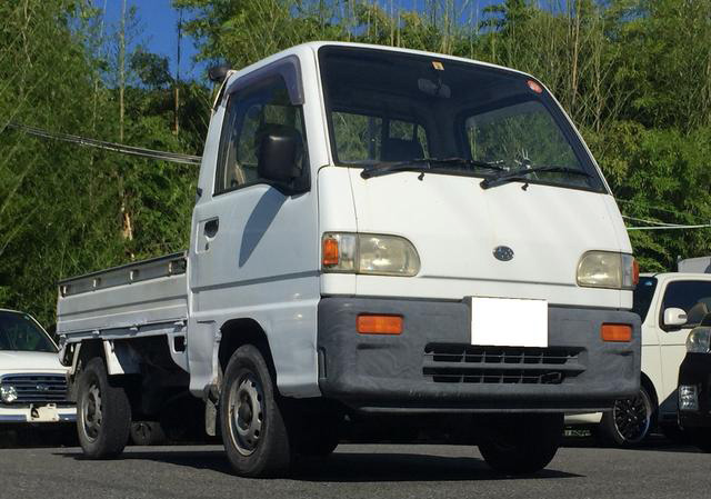 660cc Sambar Kei Truck available for export from Japan. Contact us at Japan Car Direct