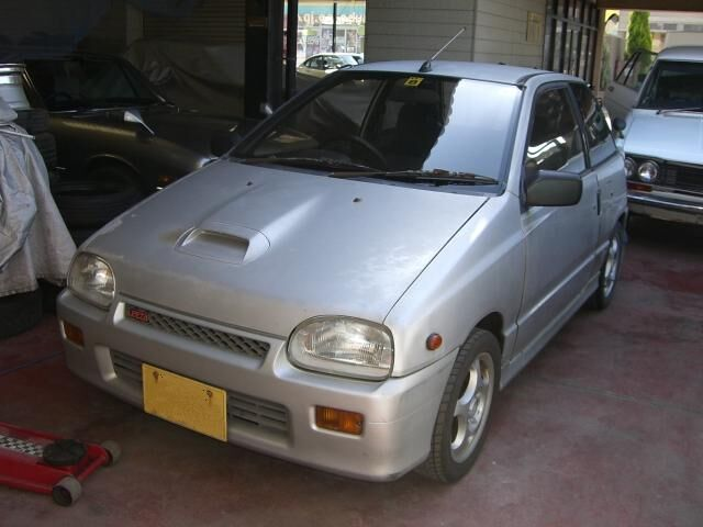 Daihatsu Leeza. Japanese Kei Sports Car