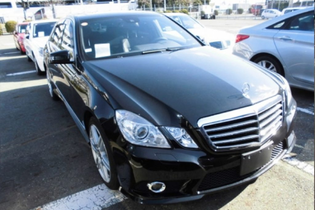 2009 Mercedes-Benz E350 AMG exported by Japan Car Direct