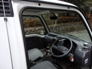 Sixth Gen Sambar Truck. Subaru Sambar 4wd from Japan. Over 25 years old and easy to import