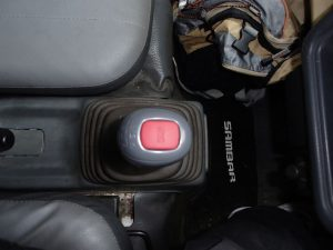 Subaru Sambar 4wd stick shift with Extra-Low. Direct Export from Japan