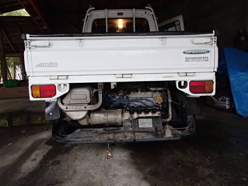 Sambar Truck good maintenance access. For sale in Japan
