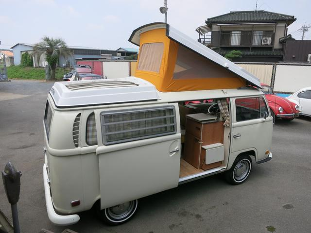 Clean Volkswagen Type-Two Camper import from Japan