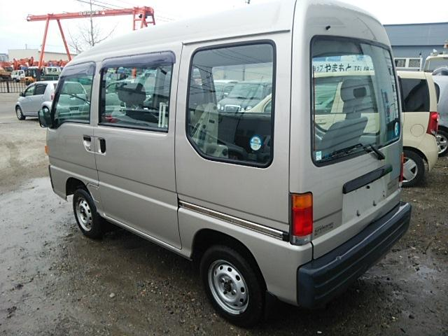 Good rear visibility on old Sambar Van that you can import from Japan