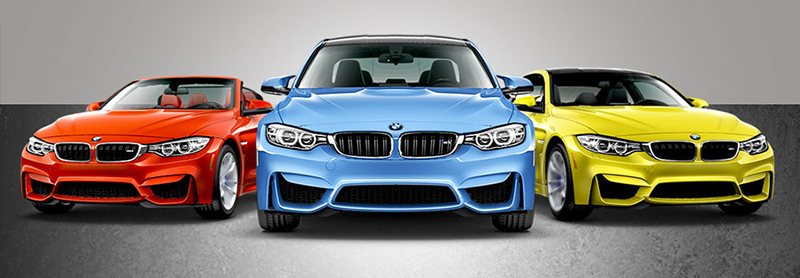 Three BMW M models