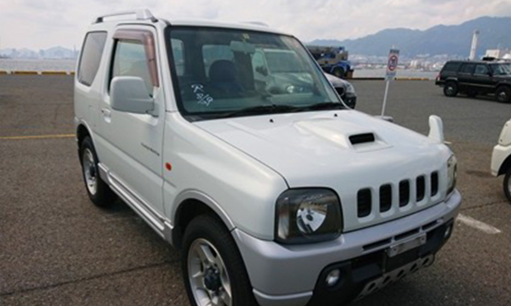 JB23W Jimny legal for import to Canada 4wd manual transmission AC rear diff lock 25 year rule USA America JDM import export
