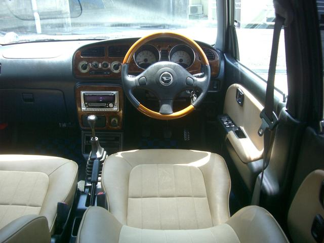 Kei Sports 4 Mira Gino interior. Clean car to import direct from Japan