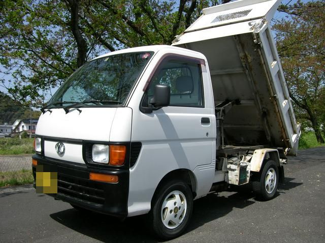 Minitruck Options Article One PHOTO 5. Minitruck with dump body import from Japan